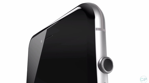 """y tuong iphone 7 """"di"""" voi nut vong xoay cua apple watch - 15"""