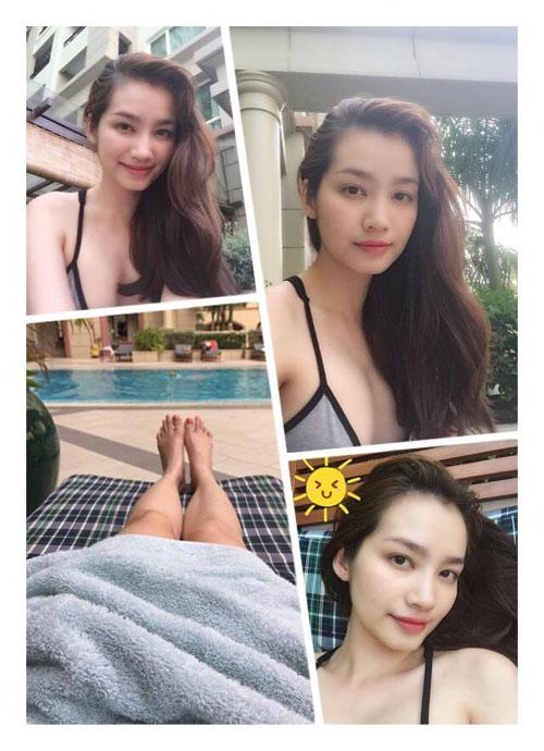 vu thu phuong dien bikini khoe dang tren bai bien - 10