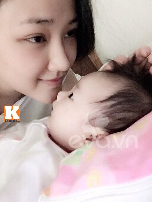 maya lan dau chia se viec sinh con va lam me don than - 4