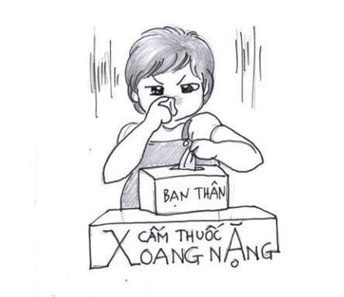'nhat ky mang thai' bang tranh hom hinh cua me meo (p.3) - 5