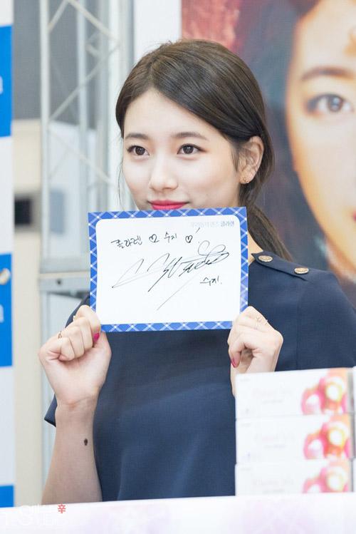 """suzy (miss a) bat ngo """"an gian"""" chieu cao - 5"""