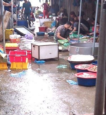 Cá ươn, cá thối tại chợ đầu mối hút khách vì giá rẻ-1