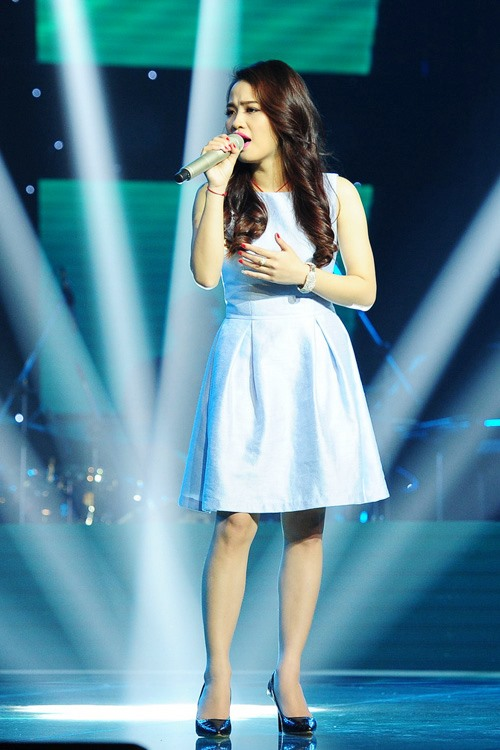 """the voice 2015: my tam """"gianh giat"""" thi sinh 16 tuoi - 11"""