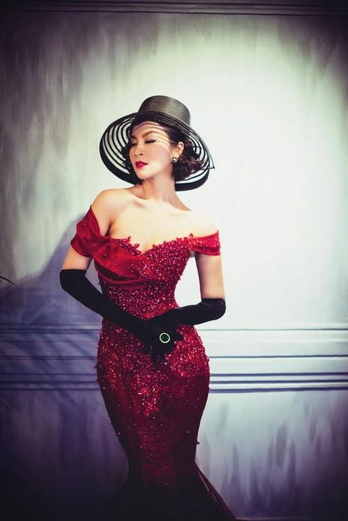 """MC Thanh Mai khoe vẻ đẹp """"quý tộc"""" tuổi 41-3"""