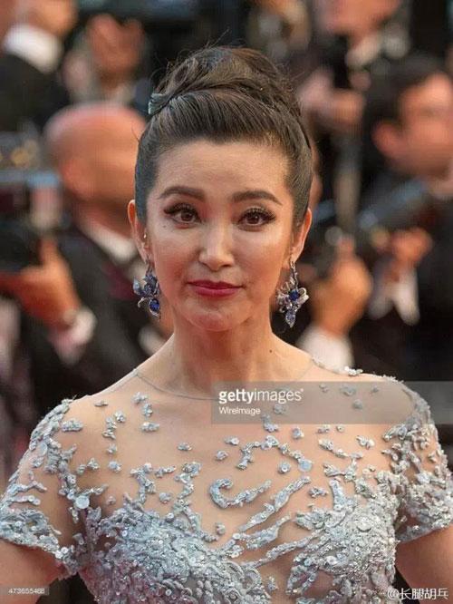 'Bộ mặt' thật của sao Hoa ngữ khi không photoshop-1