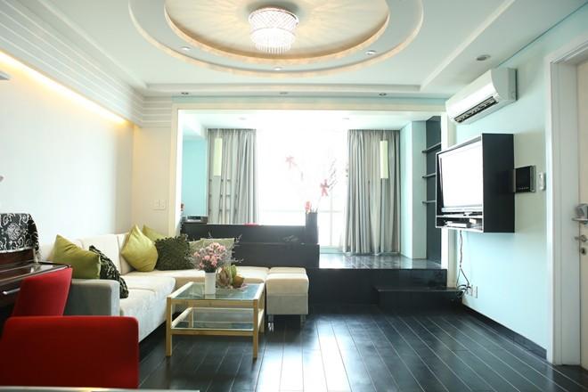 Phòng khách nhà sao Việt - đơn giản mà vẫn sang-11