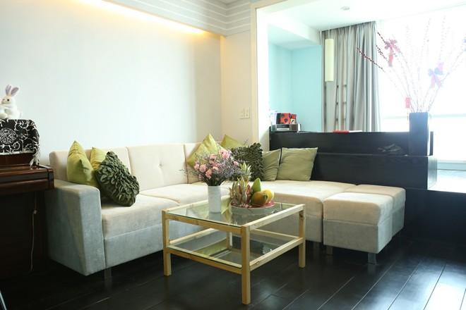 Phòng khách nhà sao Việt - đơn giản mà vẫn sang-12