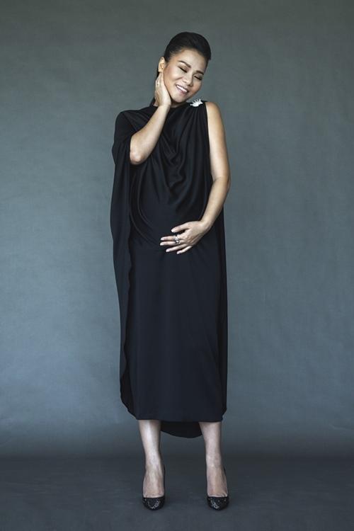 Thu Minh bán nude khoe bụng tròn xoe trước ngày lâm bồn-10