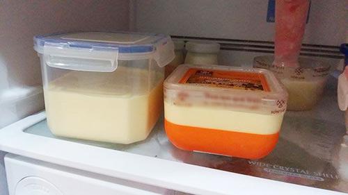 Mùa xoài chín, tự làm kem ở nhà cho bé như mẹ Tombinbon-8