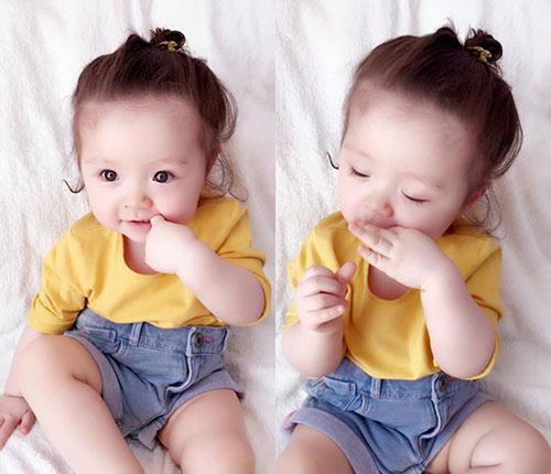 """Thời trang mùa hè """"bé nào cũng thèm"""" của con gái Elly Trần-3"""