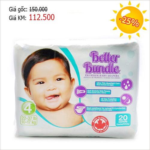 Bỉm Better Bundle – xua tan nỗi lo hăm tã của mẹ-7