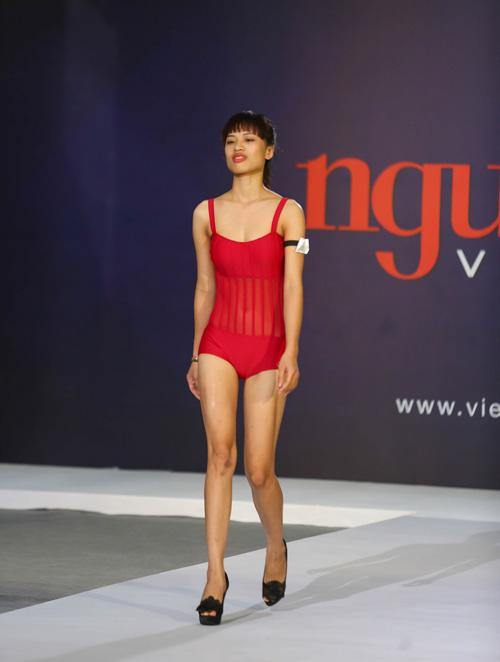 """thanh hang nguong ngung truoc thi sinh nam """"sieu vong 1"""" - 8"""