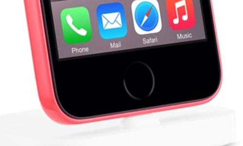apple vo tinh de lo iphone 6c tren website - 2