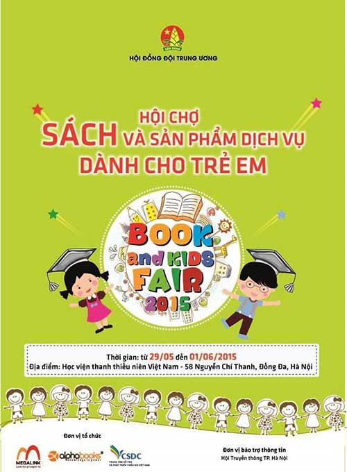 book&kids fair 2015 - hoi cho y nghia ngay 1/6 cho tre - 1