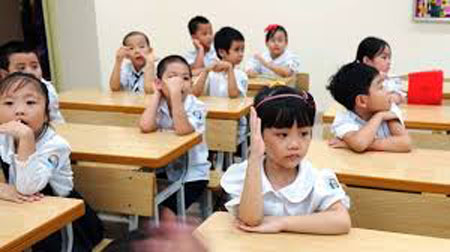 ha noi cam day truoc chuong trinh cho hoc sinh dip he - 1