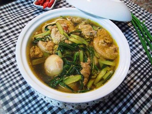 4 mon canh cua mat long chong, con ngon mieng - 1