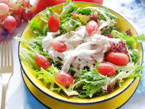 salad uc ga sot sua chua ngon ma khong beo - 4