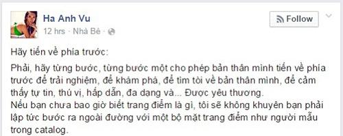 """ha anh: """"ban trai cua toi la nguoi dan ong may man"""" - 1"""