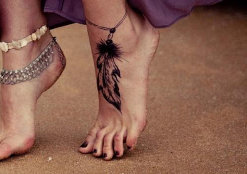 Trào lưu xăm mu bàn chân khiến chị em phát sốt-12