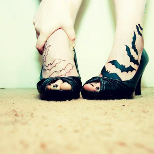 Trào lưu xăm mu bàn chân khiến chị em phát sốt-14