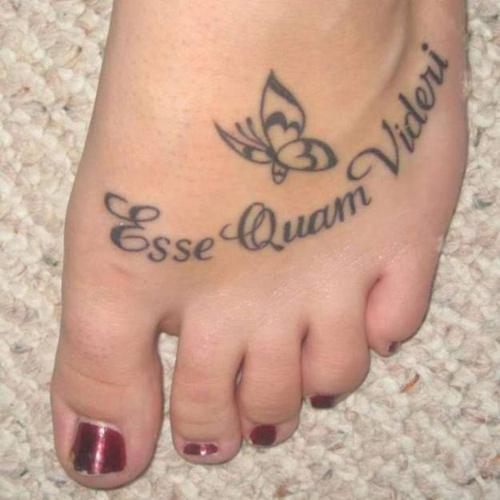 Trào lưu xăm mu bàn chân khiến chị em phát sốt-3