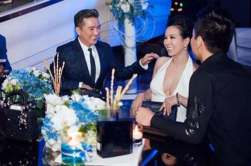 Hoa hậu Thu Hoài gợi cảm bên Mr Đàm-4
