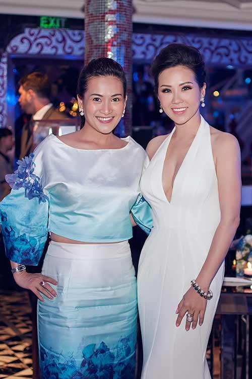 Hoa hậu Thu Hoài gợi cảm bên Mr Đàm-6