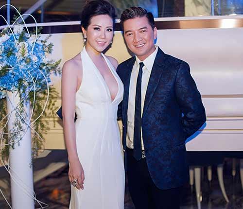 Hoa hậu Thu Hoài gợi cảm bên Mr Đàm-3