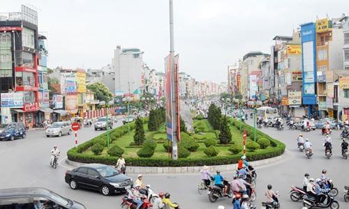 """""""Lộ"""" con đường đắt nhất hành tinh mới ở Hà Nội-1"""