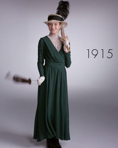 Video: 100 năm biến hóa phong cách của phái đẹp-1