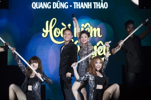 """Thanh Thảo rơi nước mắt bên """"tình cũ"""" Quang Dũng-9"""