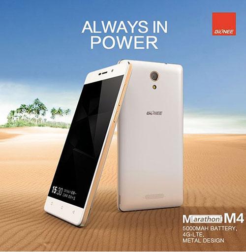 Gionee Marathon M4: smartphone 65 giờ thoại-1