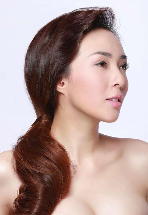 """hoa hau nguyen khanh re huong ca hat vi """"me"""" my tam - 2"""