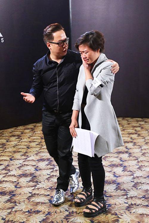 """tung leo tiet lo nhung pha """"gay can"""" cua project runway 2015 - 6"""