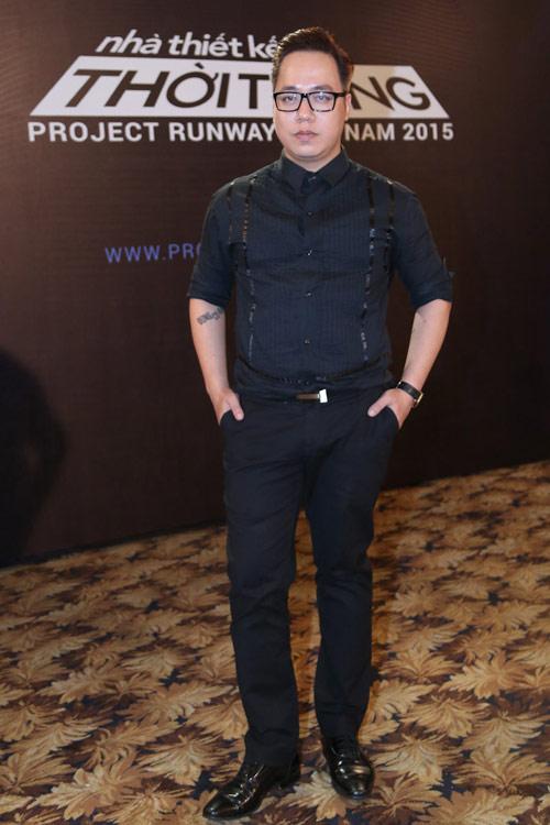"""tung leo tiet lo nhung pha """"gay can"""" cua project runway 2015 - 7"""