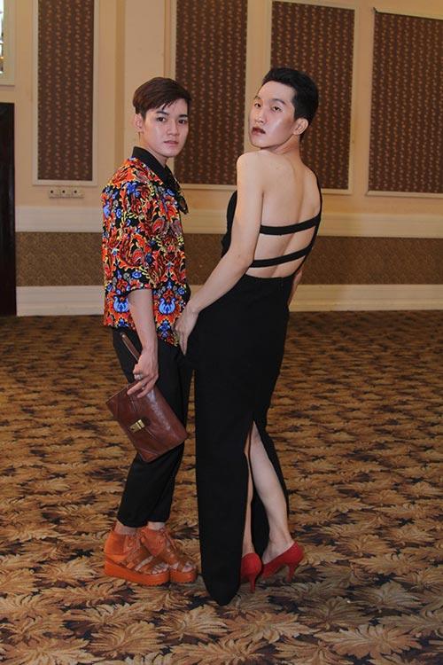"""tung leo tiet lo nhung pha """"gay can"""" cua project runway 2015 - 3"""