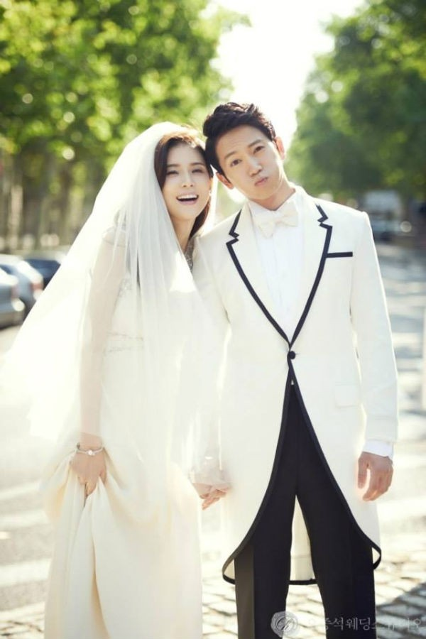 ji sung - lee bo young chao don con dau long - 1