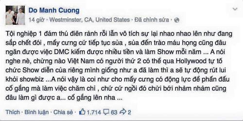 """lai rum beng tin don do manh cuong """"dao y tuong"""" - 7"""