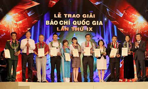 vinh danh 118 tac pham bao chi xuat sac nam 2014 - 1