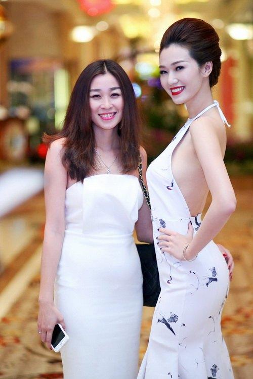 """khanh my khoe duong cong """"kho cuong"""" ben chi gai - 5"""