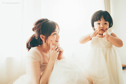 "hot mom ha noi chia se bi quyet ve cuoc song gia dinh ""chuan 10"" - 2"