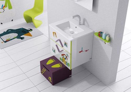 Mẹ khéo tay làm mới không gian phòng tắm-11