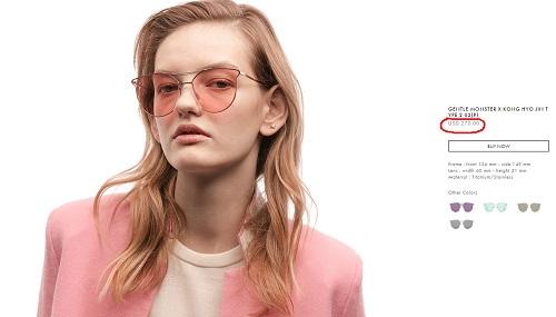 """Bóc giá chiếc kính mới """"nóng hổi"""" của bạn gái Cường đô la-3"""