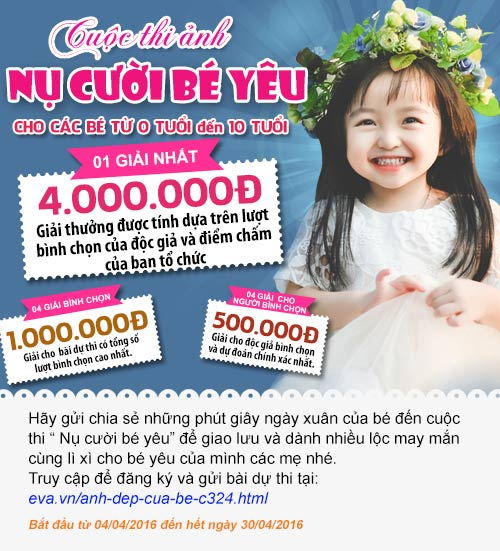 "the le cuoc thi anh ""nu cuoi be yeu"" - 1"