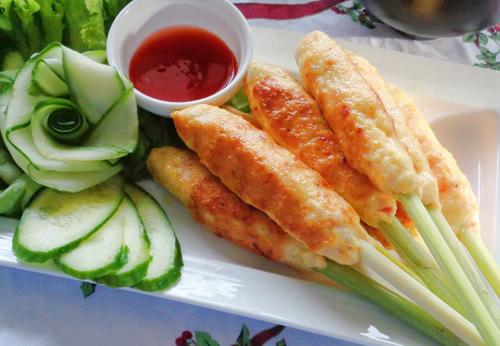 5 mon nuong bang chao thom nuc mui - 1