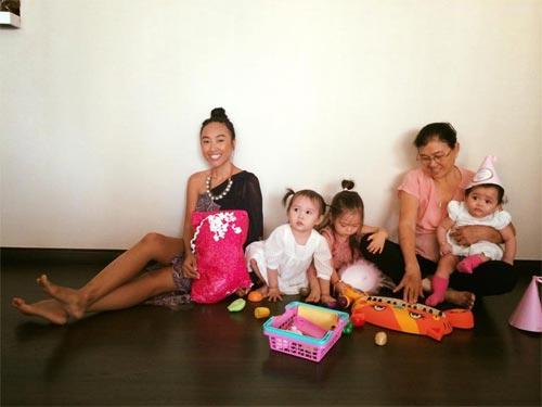 Con gái Đoan Trang xinh xắn đón sinh nhật 2 tuổi-5