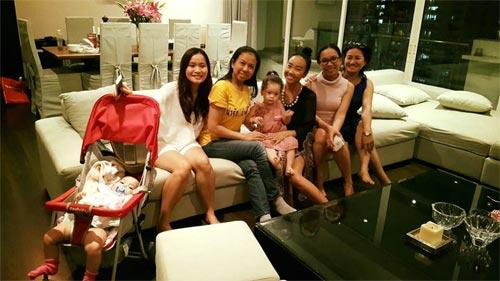 Con gái Đoan Trang xinh xắn đón sinh nhật 2 tuổi-8