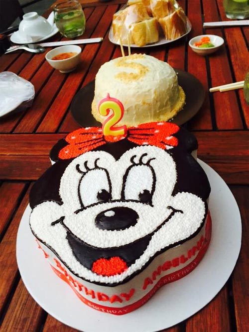 Con gái Đoan Trang xinh xắn đón sinh nhật 2 tuổi-6