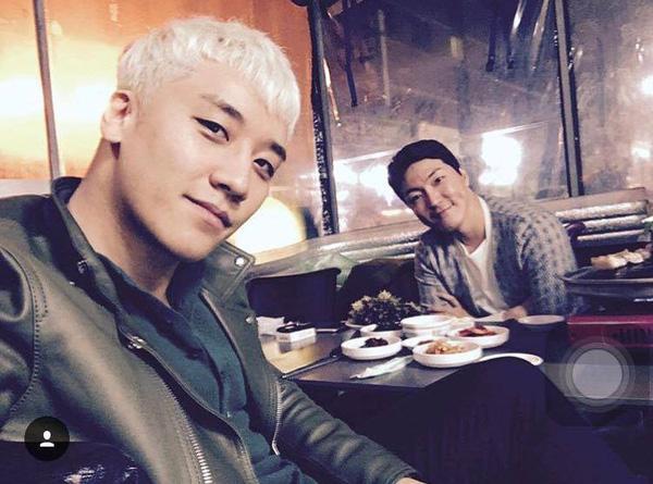 Á hậu Tú Anh khoe ảnh chụp cùng Seungri (Big Bang)-7