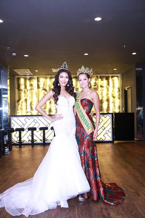 Lan Khuê được chủ tịch Miss Grand International mời thi hoa hậu-1